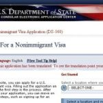 Анкета DS 160 на визу в США – пошаговое заполнение