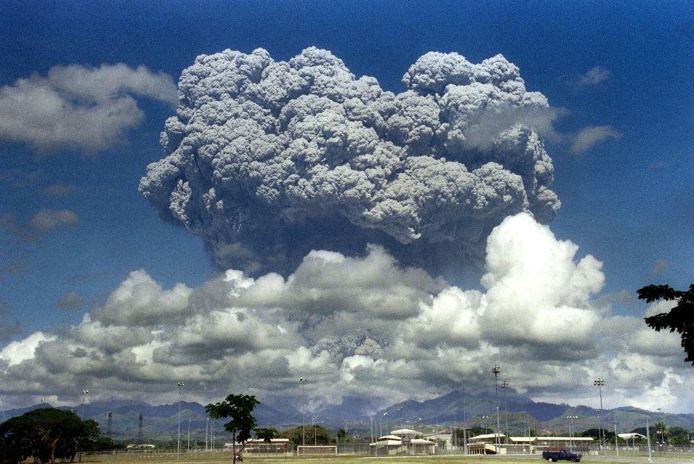 Филиппины — опасный райский уголок - извержение вулкана Пинатубо