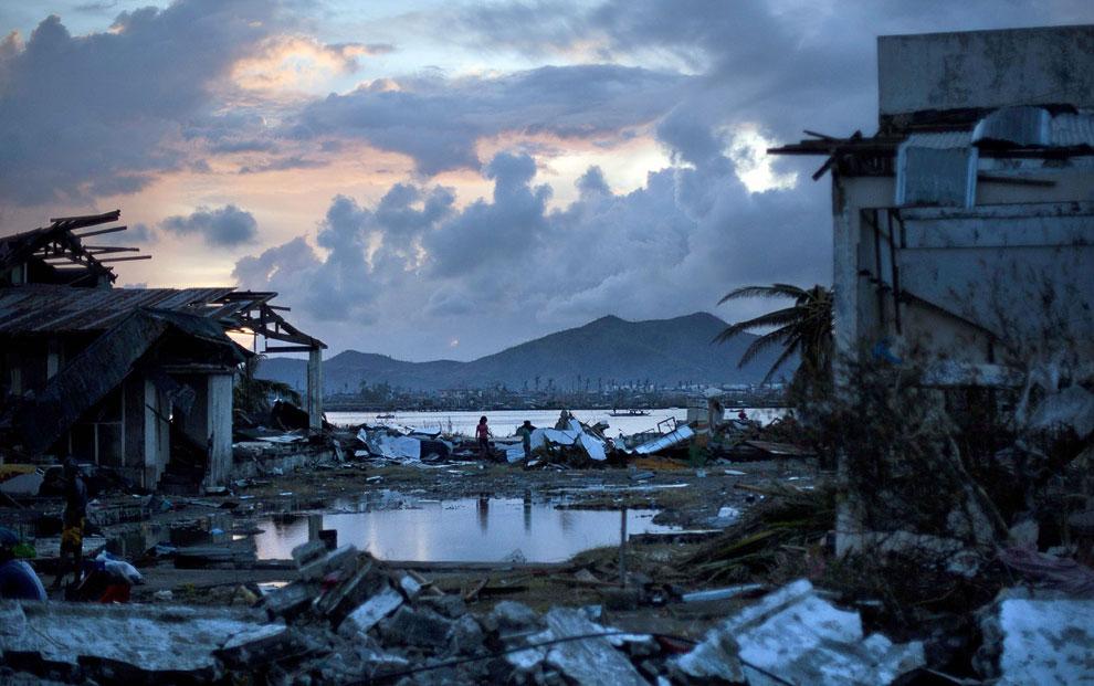 Филиппины — опасный райский уголок - последствия тайфуна
