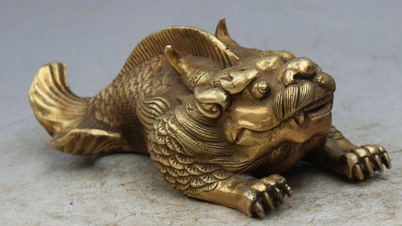 Латунный китайский сувенир